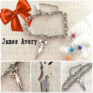 James Avery set Pom-Pom cheer cheerleader bead